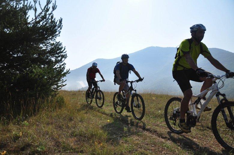 randonnée vélo VTT sport français