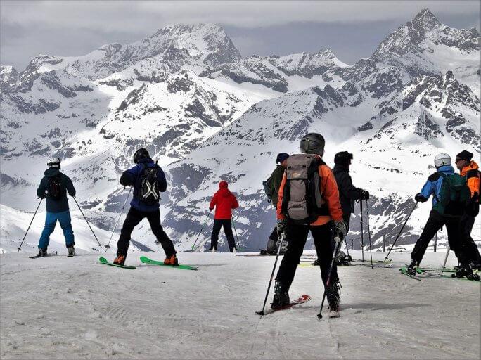 ski sport d'hiver préféré des Français