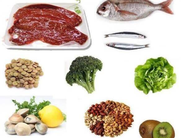 aliments riches en fer