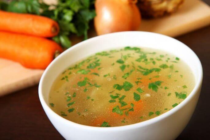 Les soupes et les bouillons