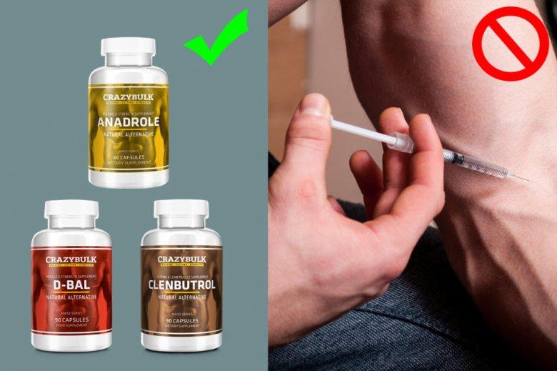 Compléments alimentaires et produits dopants pour se muscler